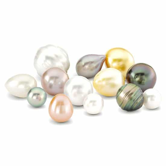 june birthstones alexandrite & pearl