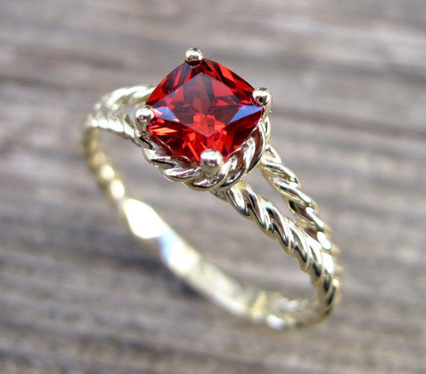 July Birthstone is the Ruby