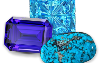 December Birthstone: Topaz, Tanzanite, Turquoise