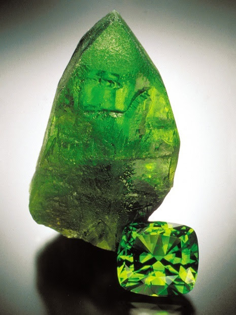 Peridot is the birthstone for August